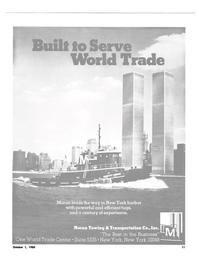 Maritime Reporter Magazine, page 9,  Oct 1980 New York Harbor