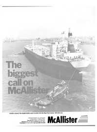 Maritime Reporter Magazine, page 1,  Oct 1980 New York Harbor