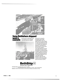 Maritime Reporter Magazine, page 3,  Oct 1980 Boston Harbor