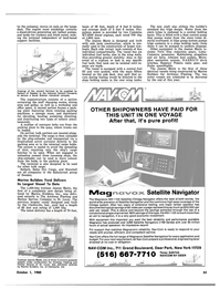 Maritime Reporter Magazine, page 49,  Oct 1980
