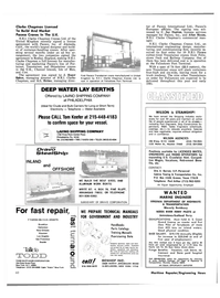 Maritime Reporter Magazine, page 4th Cover,  Oct 1980 Pennsylvania