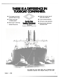 Maritime Reporter Magazine, page 25,  Oct 15, 1980 CURTIS BAY TOWING COMPANY