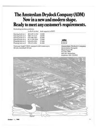 Maritime Reporter Magazine, page 35,  Oct 15, 1980 Amsterdam Drydock Company