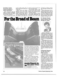 Maritime Reporter Magazine, page 50,  Oct 15, 1980 California