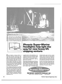 Maritime Reporter Magazine, page 54,  Oct 15, 1980