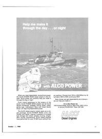 Maritime Reporter Magazine, page 57,  Oct 15, 1980 Write Alco Power Inc.