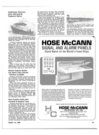 Maritime Reporter Magazine, page 63,  Oct 15, 1980