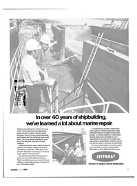 Maritime Reporter Magazine, page 4th Cover,  Oct 15, 1980