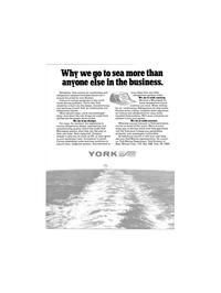 Maritime Reporter Magazine, page 12,  Nov 1980 York Marine Department