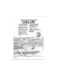Maritime Reporter Magazine, page 19,  Nov 1980 United States Navy