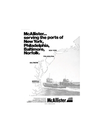 Maritime Reporter Magazine, page 1,  Nov 1980 McAllister Brothers Inc.