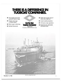 Maritime Reporter Magazine, page 11,  Nov 15, 1980
