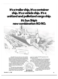 Maritime Reporter Magazine, page 13,  Nov 15, 1980 Waterman Steamship Corp.