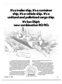 Maritime Reporter Magazine, page 13,  Nov 15, 1980