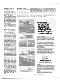 Maritime Reporter Magazine, page 17,  Nov 15, 1980 United States Navy