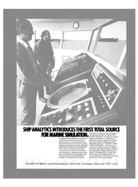 Maritime Reporter Magazine, page 23,  Nov 15, 1980 instructional systems