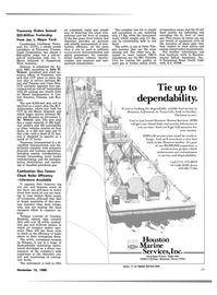 Maritime Reporter Magazine, page 27,  Nov 15, 1980