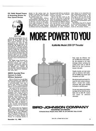 Maritime Reporter Magazine, page 31,  Nov 15, 1980