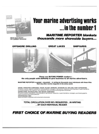 Maritime Reporter Magazine, page 34,  Nov 15, 1980 PORT AUTHORITIES Directors