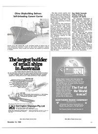 Maritime Reporter Magazine, page 47,  Nov 15, 1980 New York