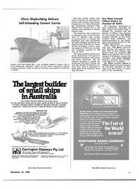 Maritime Reporter Magazine, page 47,  Nov 15, 1980