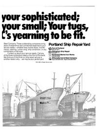 Maritime Reporter Magazine, page 7,  Nov 15, 1980 Willamette Iron & Steel Company