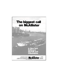 Maritime Reporter Magazine, page 1,  Dec 1980 McAllister Brothers Inc.