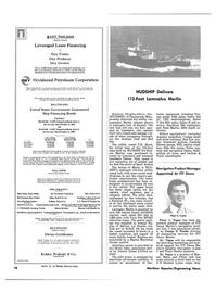 Maritime Reporter Magazine, page 8,  Dec 15, 1980 Mississippi