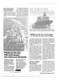 Maritime Reporter Magazine, page 20,  Dec 15, 1980 New York