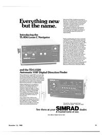 Maritime Reporter Magazine, page 25,  Dec 15, 1980 U.S. Coast Guard