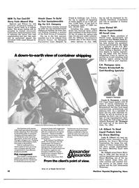 Maritime Reporter Magazine, page 26,  Dec 15, 1980 James P. Horn