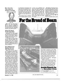 Maritime Reporter Magazine, page 35,  Dec 15, 1980