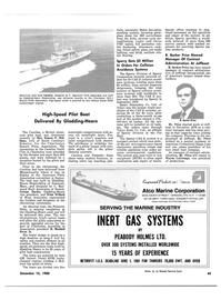 Maritime Reporter Magazine, page 37,  Dec 15, 1980 New York