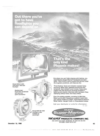Maritime Reporter Magazine, page 39,  Dec 15, 1980 PHOcNUCPRODUCTS COMPANY INC.