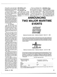 Maritime Reporter Magazine, page 43,  Dec 15, 1980 Mississippi