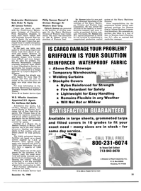 Maritime Reporter Magazine, page 47,  Dec 15, 1980 Division of Reef Industries Inc.
