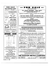 Maritime Reporter Magazine, page 59,  Dec 15, 1980 RCA HP 440 Headphone/Headset