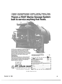 Maritime Reporter Magazine, page 63,  Dec 15, 1980 Know About Marine Sewage Systems