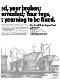 Maritime Reporter Magazine, page 7,  Dec 15, 1980 Willamette Iron & Steel Company