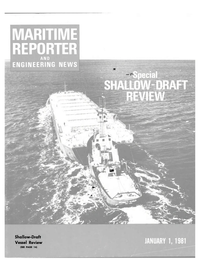Maritime Reporter Magazine Cover Jan 1981 -