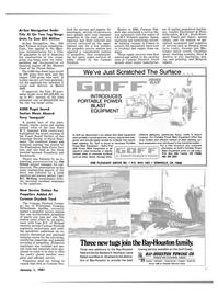 Maritime Reporter Magazine, page 9,  Jan 1981