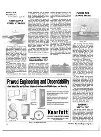 Maritime Reporter Magazine, page 14,  Jan 1981