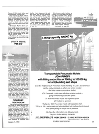 Maritime Reporter Magazine, page 17,  Jan 1981