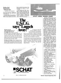 Maritime Reporter Magazine, page 20,  Jan 1981