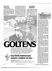 Maritime Reporter Magazine, page 24,  Jan 1981