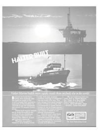 Maritime Reporter Magazine, page 27,  Jan 1981 United States