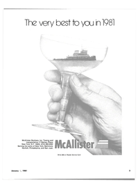 Maritime Reporter Magazine, page 1,  Jan 1981 New York