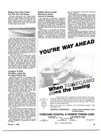 Maritime Reporter Magazine, page 29,  Jan 1981