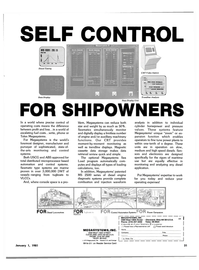Maritime Reporter Magazine, page 31,  Jan 1981 type systems