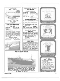 Maritime Reporter Magazine, page 53,  Jan 1981